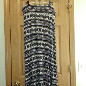American Rag Pull-On Boho Maxi Skirt Sz XL EUC!